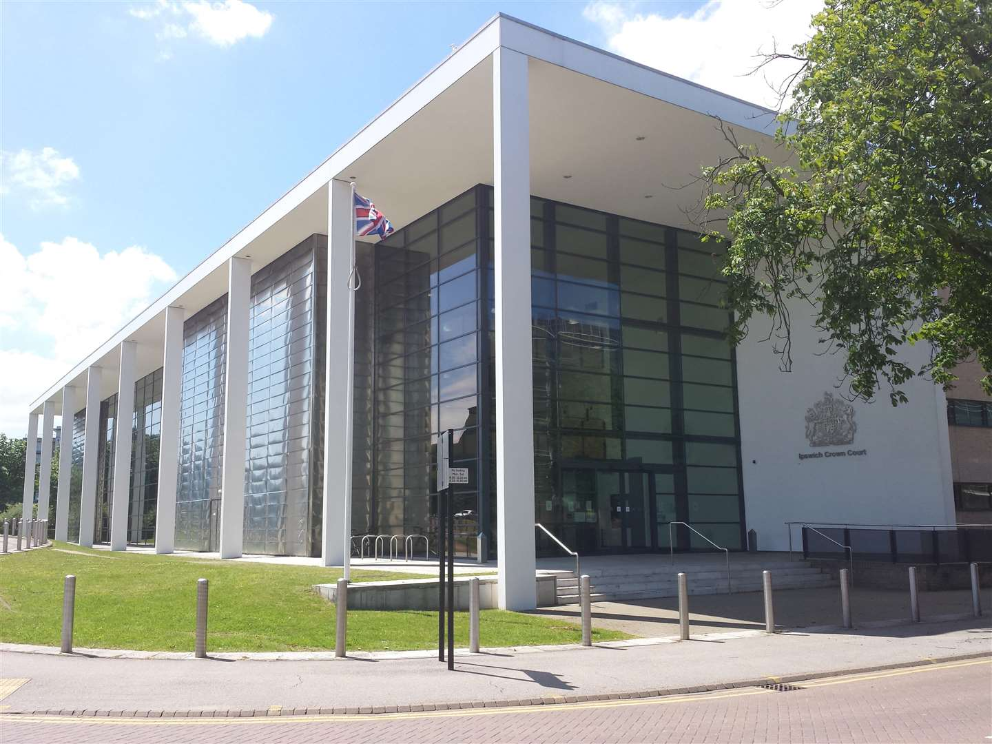 Ipswich Crown Court, where Iain Dunn was sentenced today.