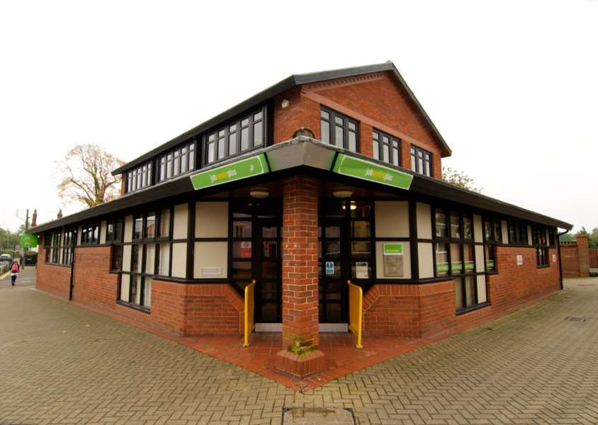 Diss, Norfolk. The Job Centre Plus in Diss ENGANL00120121030111847