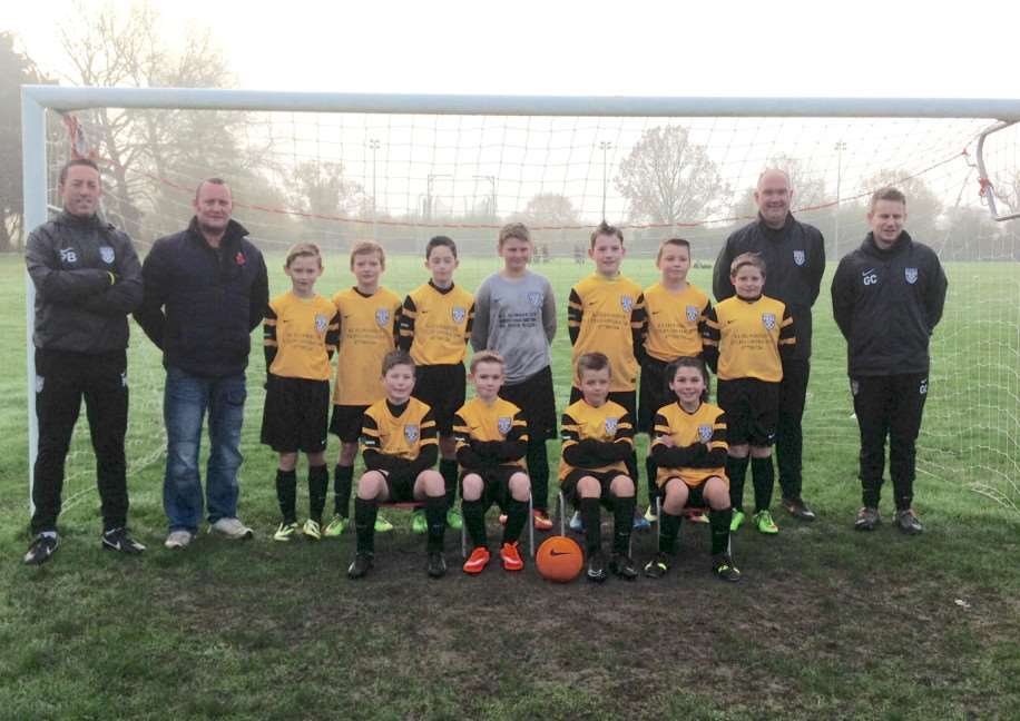 GOAL TRAIL: Scole United Under-11s, who cruised to a 6-0 victory over Toftwood in our youth football match of the week
