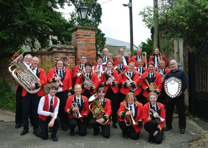 Castleton Brass will compete in the National Brass Band Championships of Great Britain in Cheltenham on Sunday, September 17. Submitted photo.