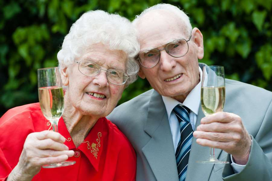 Geoff and Lily Ruddock, from Scole, will celebrate their Platinum wedding anniversary on 2 June 2015 after 70 years of marriage. ANL-150527-144551009