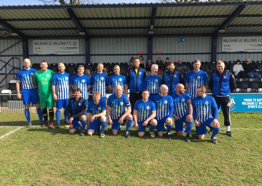 FINALISTS: AFC Hoxne Veterans are into the county cup final