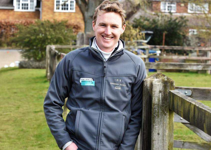 AT HOME: Scott is happy with life at Saffron House Stables