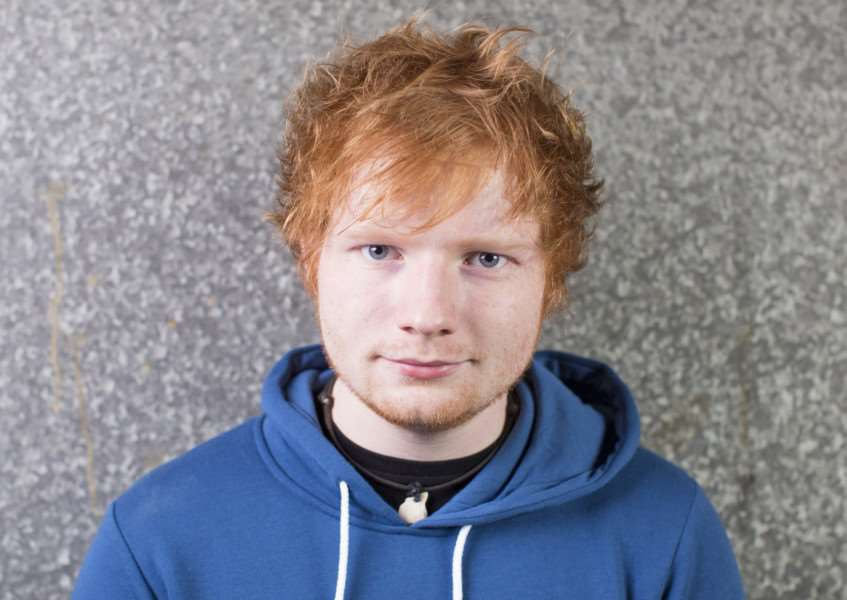 Ed Sheeran. Photo: SWNS