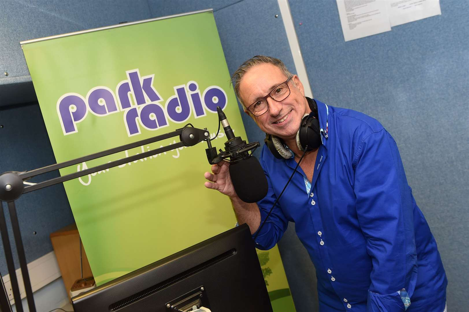 "Park Radio DJ Chris Moyse said the station was ""over the moon"" to receive emergency funding from Ofcom"