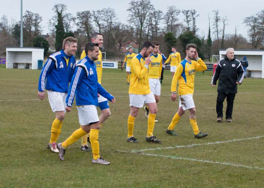 FINAL COUNTDOWN: AFC Hoxne players will be hoping they can create more happy memories when they take on Henley Athletic in the Suffolk Junior Cup final at Portman Road next Tuesday