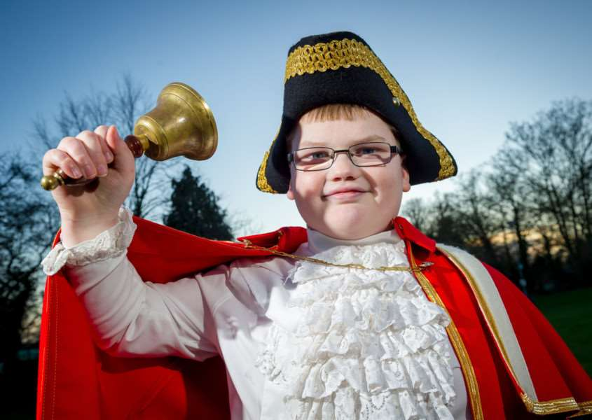 Harry Turbuville,11, from East Harling. Picture: SWNS