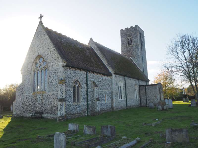 St Mary's Church in Forncett has received initial support from the Heritage Lottery Fund to aid its Save our Saxon Tower project. Submitted picture.