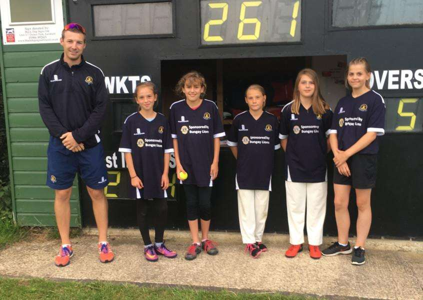 PROGRESSING WELL: Topcroft Under-13 Girls