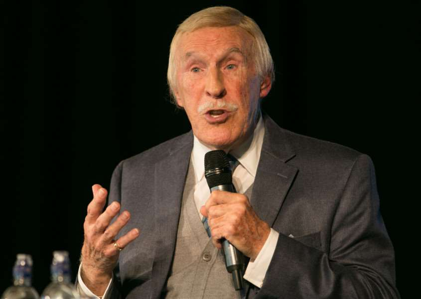 Sir Bruce Forsyth died on Friday, aged 89.