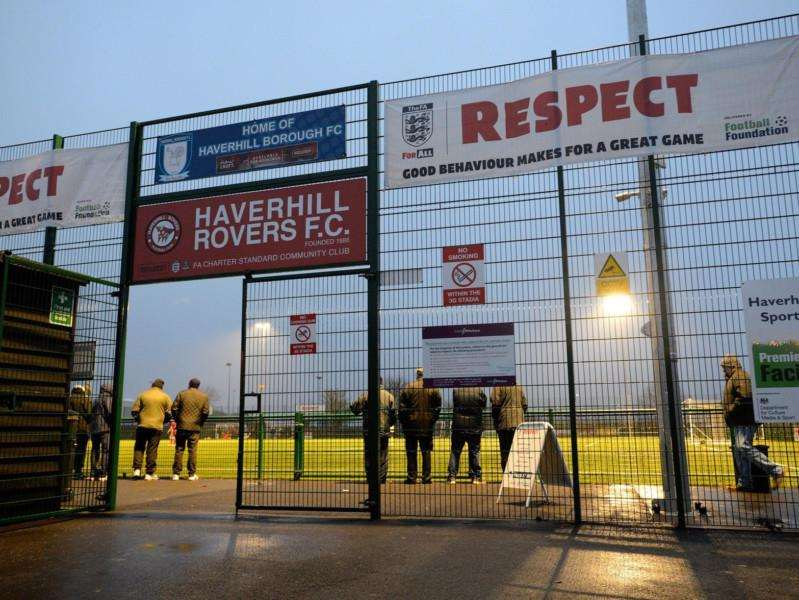 THE 3G: Haverhill Borough's 3G home at The New Croft is categorised at a level below the Thurlow Nunn League Premier Division. Picture: Mark Bullimore
