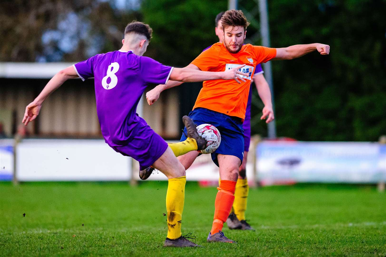 Football action from Diss Town v Wisbech St Mary - Ryan Swift..Mark Bullimore Photography 2019. (38855866)