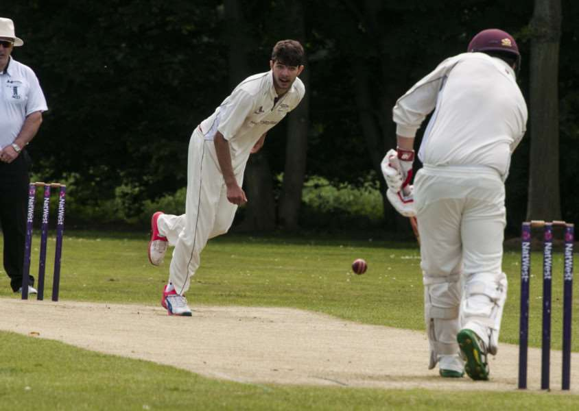 NO LUCK: Kieran Pask was unable to claim a wicket for Garby on Saturday