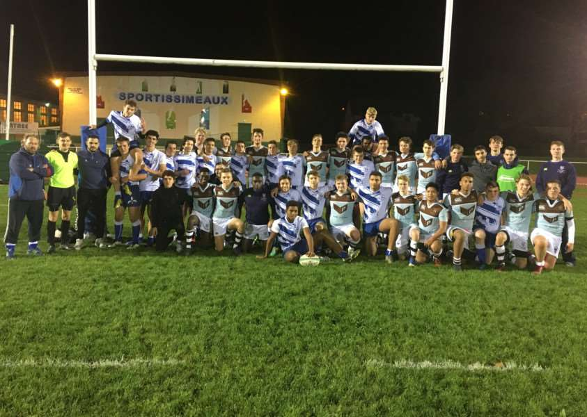 ON TOUR: Framlingham rugby players