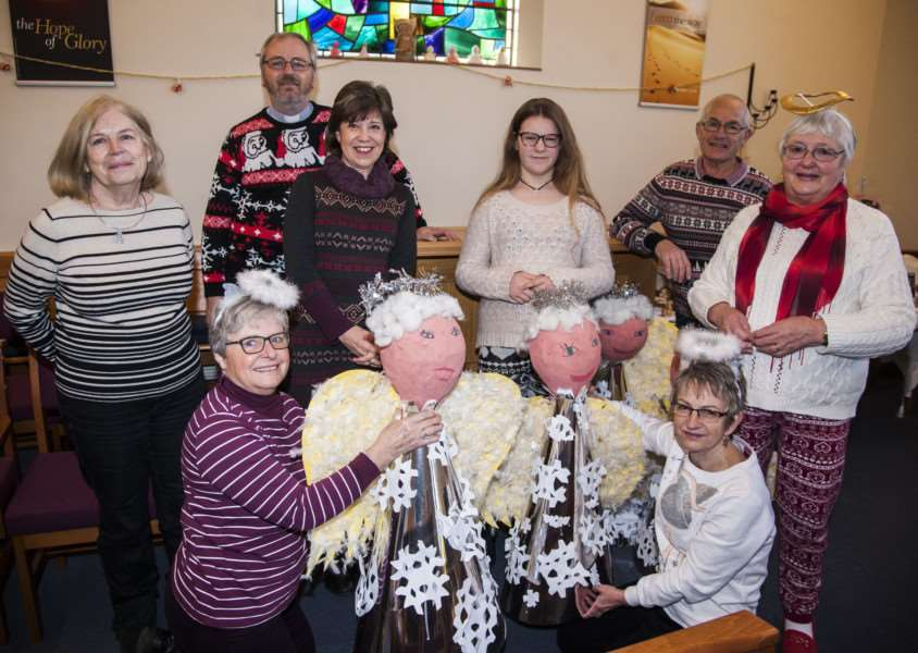 Diss Methodist Church will be holding a Festival of Angels.