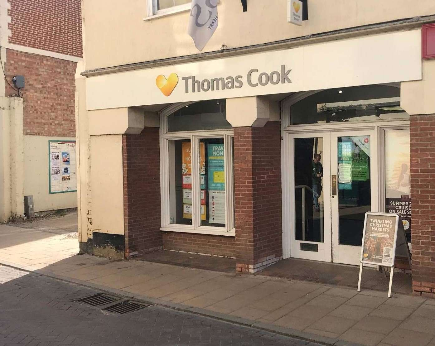 Thomas Cook Diss branch, 11 Market Place. Picture by Victoria Scheer.