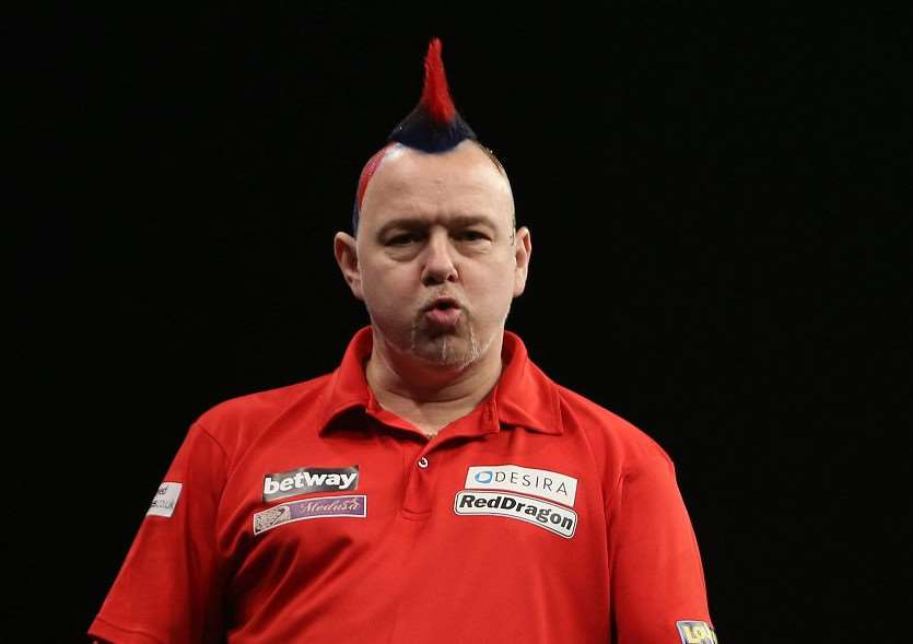 LEAGUE LEADER: Peter Wright is top of the Premier League. PICTURE: Lawrence Lustig/PDC