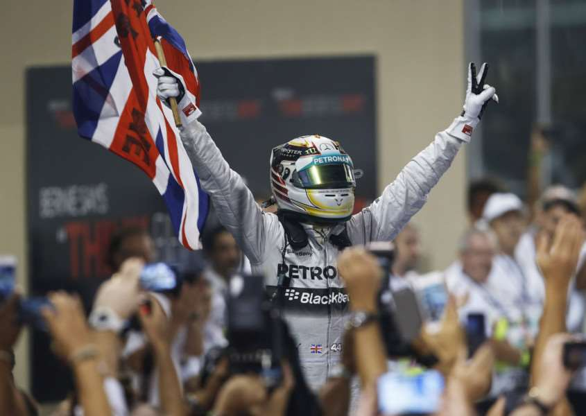 FIRM FAVOURITE: Ben Edwards believes the home crowd will inspire Lewis Hamilton to victory at Silverstone