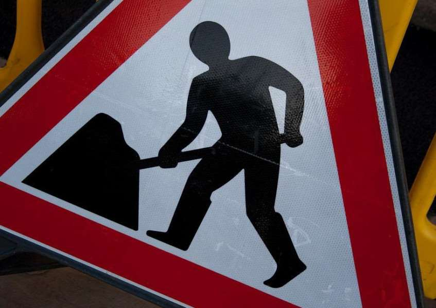 Roadworks are due to begin in Great Moulton on Monday.