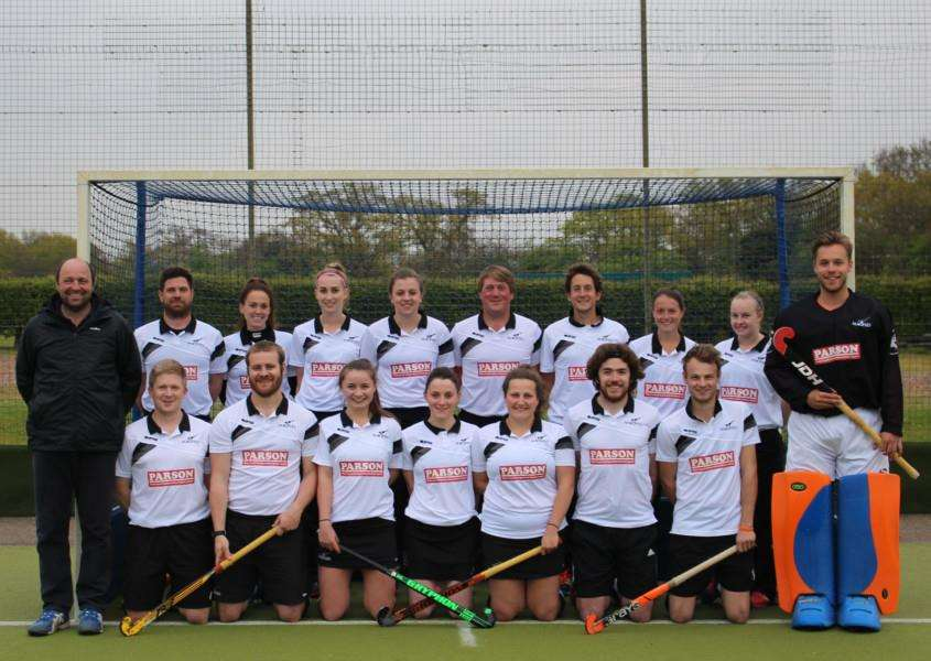 TROPHY TILT: Harleston Magpies' mixed team are aiming to win the England Hockey Mixed Trophy for the third time in London this weekend