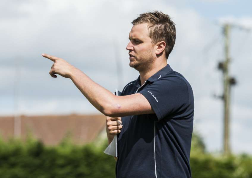 ALL CHANGE: Ross Potter has left Diss Town after two years in charge, with Paul Bugg coming in to replace him