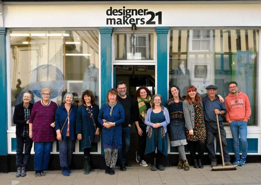 Artists from designermakers21 want to buy their Diss premises