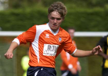 MIDFIELD MAESTRO: Diss Town Reserves' Ashley Baxter