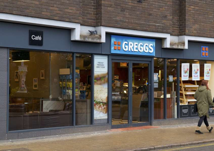 Greggs in Mere Street, Diss.