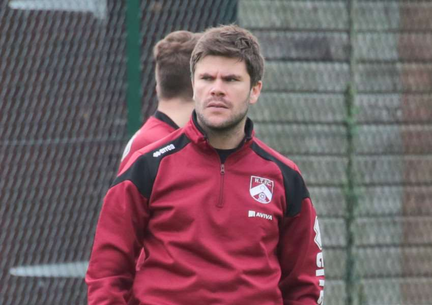HUGE GAME: Harleston boss Adam Gusterson