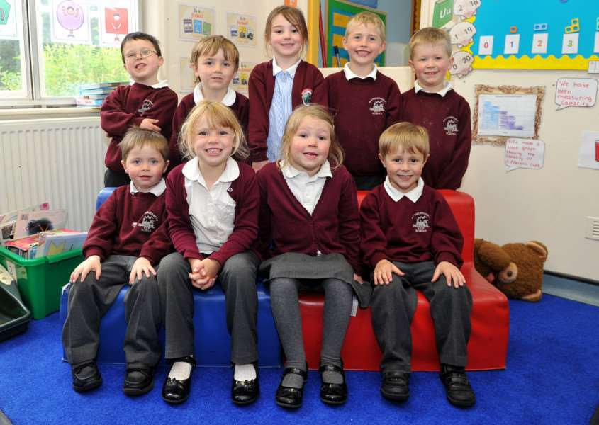 Class of the week - RECEPTION CLASS - Wetheringsett Primary School ANL-150605-155731009