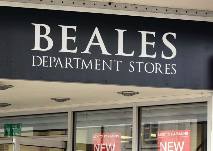 Beales department store.