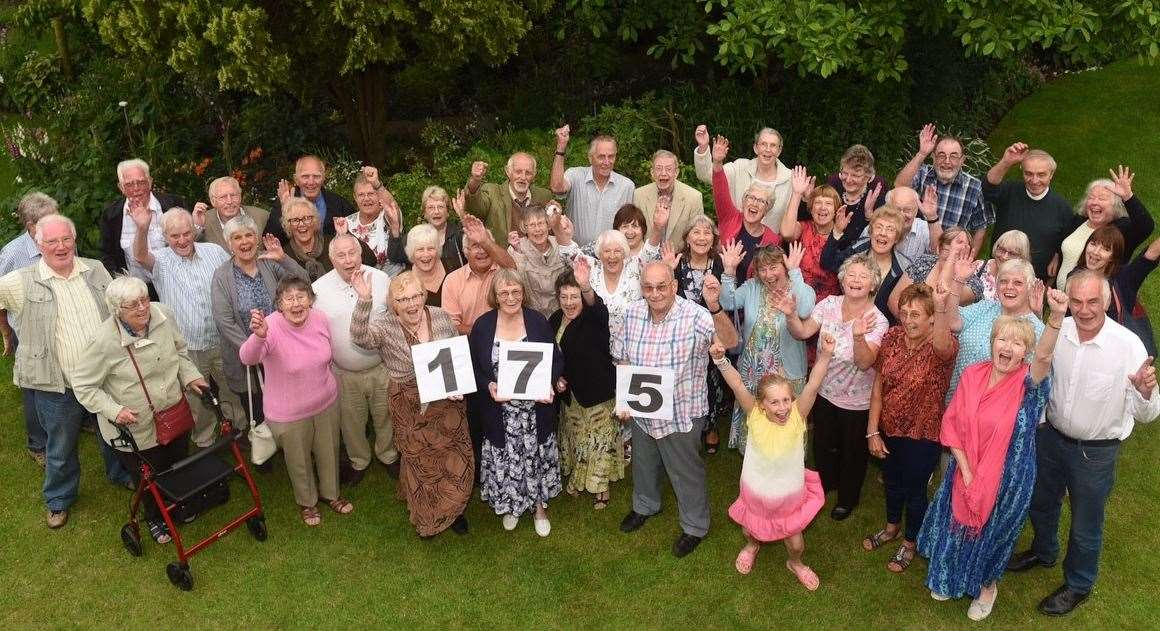 Society members celebrated 175 years with a garden party. Pictures by Angela Jolly
