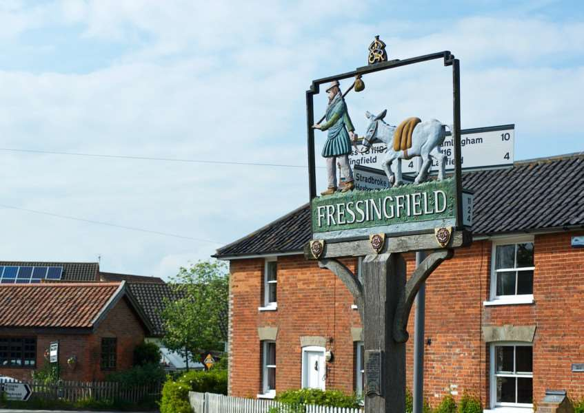 Fressingfield will hold an open gardens event this weekend.