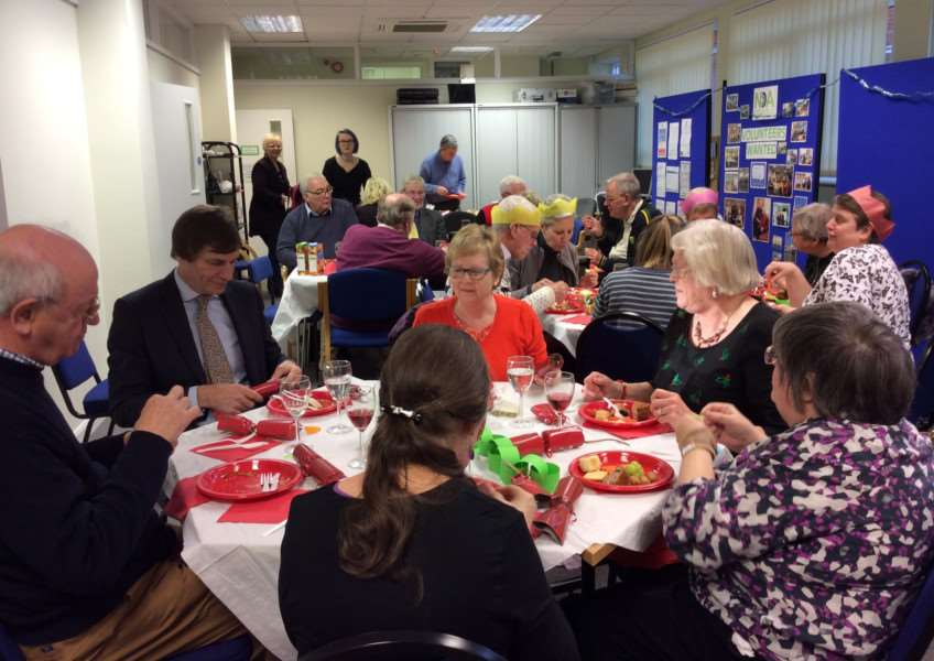 The Christmas party for the Norfolk Deaf Association. Submitted picture.