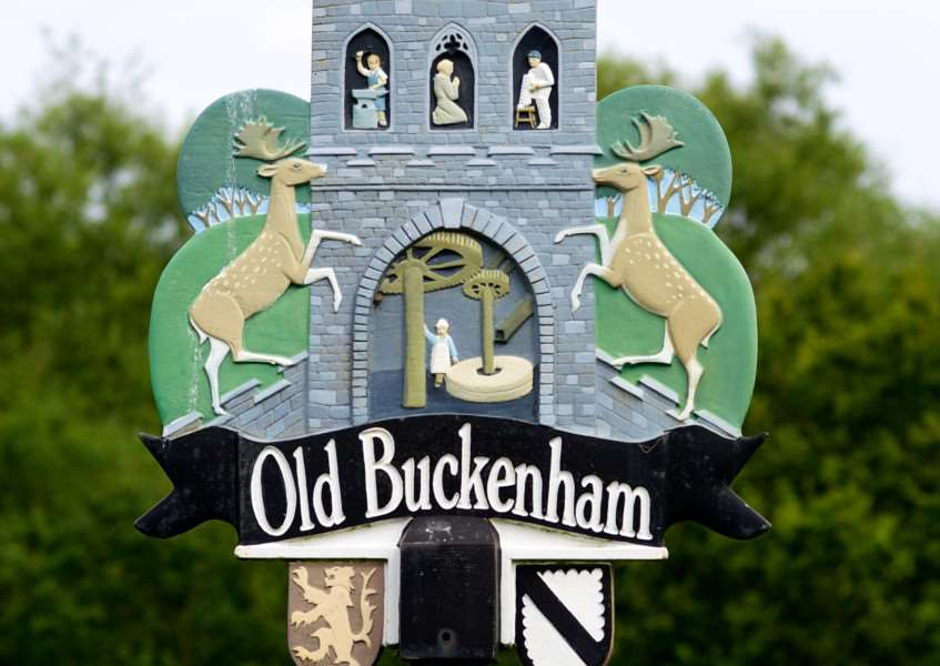 VILLAGE SIGN - OLD BUCKENHAM