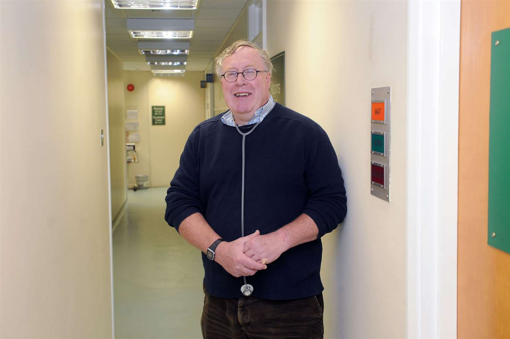 Dr Tim Cooke is set to step down as a partner at Botesdale Health Centre. Picture by Mecha Morton.