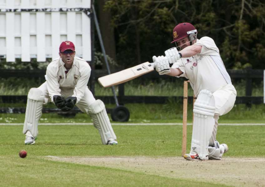 CAPTAIN'S INNINGS: Terry Perry scored 86 runs for Old Buckenham during their four-run defeat against Brooke