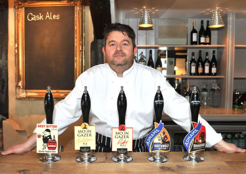 The Old Kings Head pub in Brockish is re-opening for business after 18 months of closure''Pictured: New owner Jonathan Townley ANL-150218-163450009