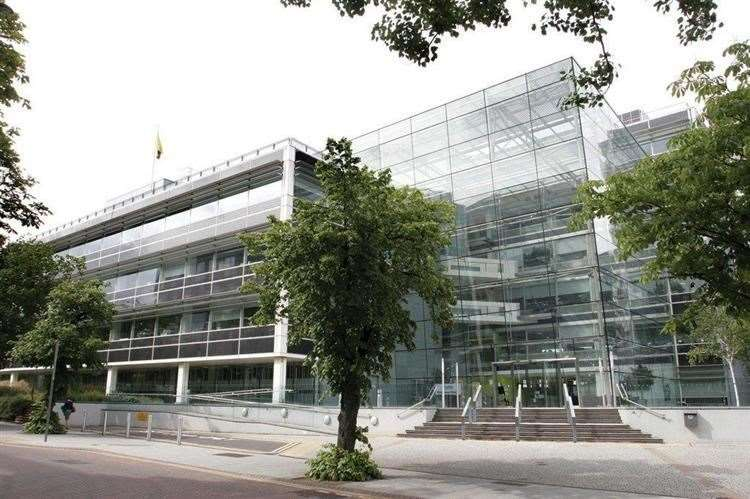 Suffolk County Council's headquarters at Endeavour House, Ipswich )