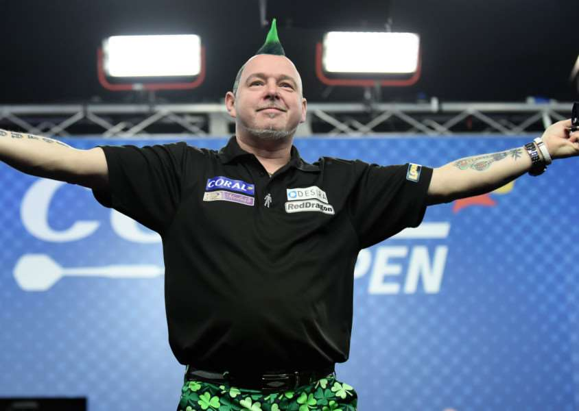 SUCCESSFUL YEAR: Mendham's Peter Wright has won nine tournaments on the PDC circuit so far this season, a feat which has only been accomplished by five other players in history Picture: Christopher Dean/PDC