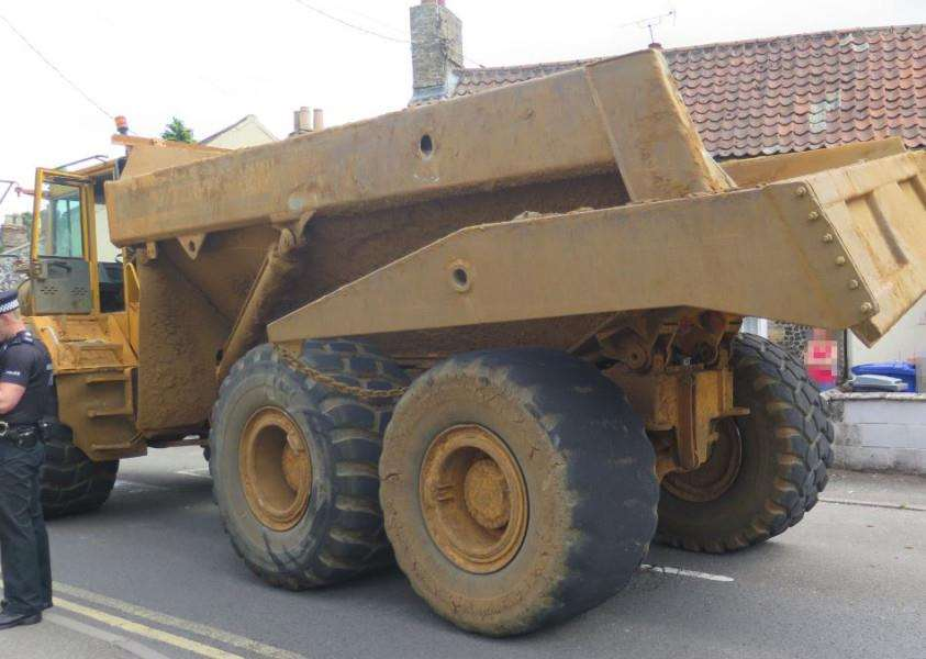 Police are appealing for witnesses after a dumper truck was stolen near Norwich and driven dangerously through the county to Brandon. ANL-150722-125511001