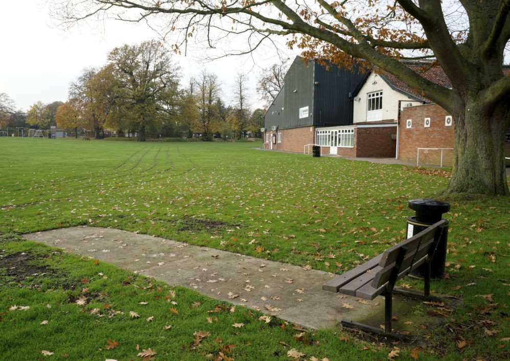 Harleston, Norfolk. Harleston Recreation ground which is due to have CCTV installed around it. ANL-141119-161212001