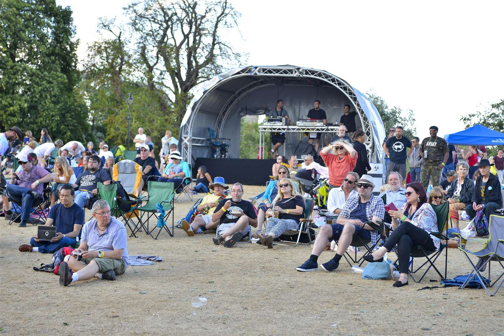 Gig in the Park in Diss Park. Picture by Mark Bullimore.