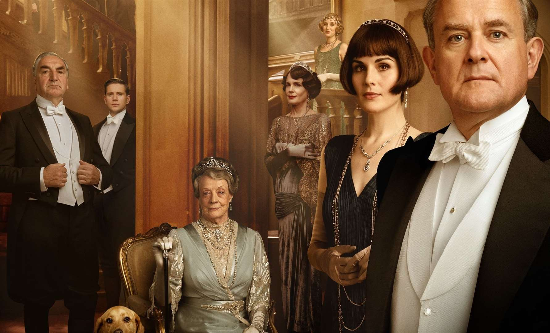 Mrs Mooney's cousin, Julian Fellowes, is the creator of the award winning ITV show Downton Abbey.