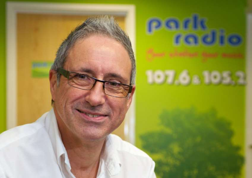 Diss, Norfolk. Park Radio launches on Sunday, pictured is Chris Moyse. ''Picture: MARK BULLIMORE PHOTOGRAPHY