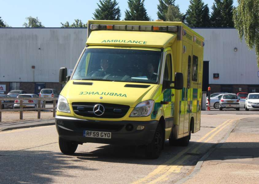 Man hospitalised in Long Stratton crash
