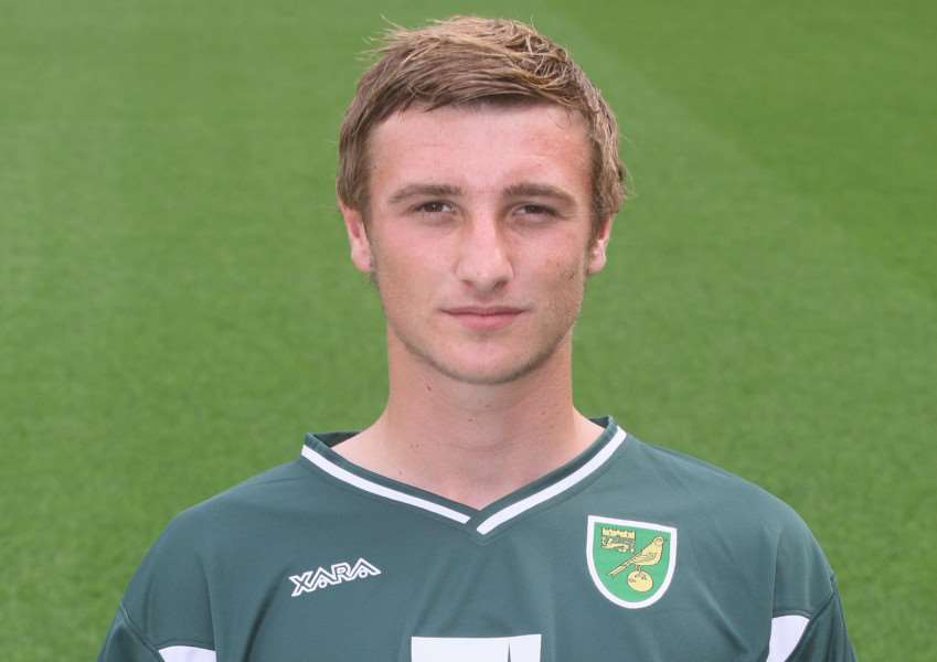 STARTING SPOT: Diss' Declan Rudd was in action for Norwich in the Premier League on Saturday