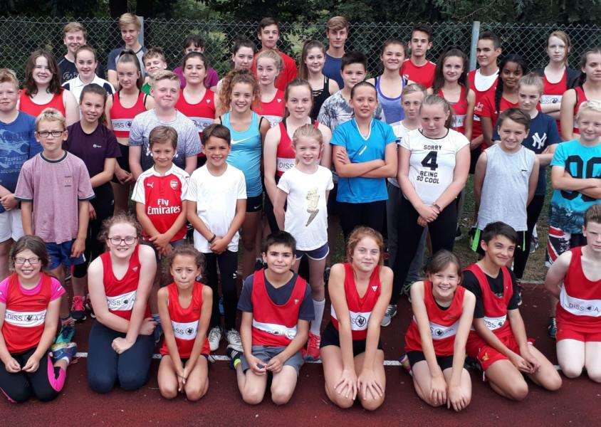 OPEN DAY: Diss and Disctrict Athletics Club is opening up its doors