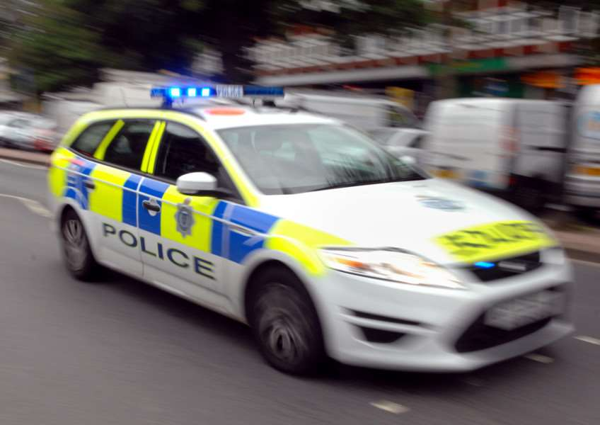 Police Car / Incident Stock Pic (Pic by Jon Rigby) SUS-150514-114114001