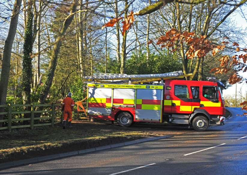 House fire in Stonham Aspal ANL-150217-121409009